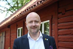 Riksdagskandidat Anders G Johansson (M) vill se fler poliser och strängare lagar.