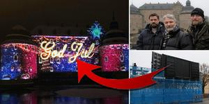 Filmen, som produceras av företaget Greenwall, kommer visas två gånger om dagen fram till nyårsafton, där det väntar en överraskning för besökarna.