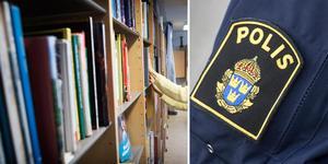 De två åtalade männen ska ha hämnats med våld efter att ha blivit avvisade från skolbiblioteket. Arkivbild.