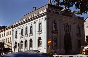 Riksbankshuset fångat på bild under 1950-talet. Bildkälla: Örebro stadsarkiv/fotograf