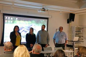 Martha Wicklund (V), Sara Maxe (KD), John Johansson (S) och Anders Olsson (C) ger sin syn på hemlöshet i Örebro.