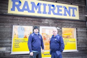 Efter att det stod klart att Ramirent stänger sin butik i Avesta står Anders Wetterskog och Tom Hansen utan jobb.