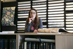 """""""I Leksand målar man efter tradition och vi vill hjälpa till att bibehålla siljansbygdens charm"""", menar Annsofie"""