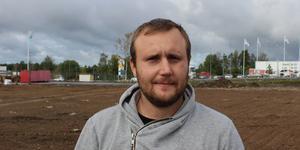 Hannes Andersson där Roslagsjärn tidigare låg.