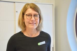 """""""Vi skulle kunna sälja hur mycket som helst"""" säger Monika Häll Tobiasson om handspriten som tagit slut."""