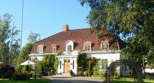 Nyhammars herrgård ligger cirka 20 minuters bilfärd utanför Ludvika. Foto: Trygga Fastighetsförmedlingar Sverige