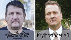 Montage. | Jan Näslund, Gamla byn / Christian Kirkman-Möller, Krylbostäder.