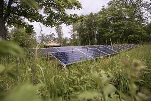 Solcellsparken är ett steg i projektet att göra Lidö helt fossilfri.