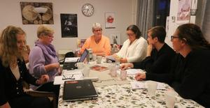 Stina Carlsson, Ireen von Wachenfeldt, Lena Rosborg, Ulrika Fredriksson, Sara Lonnfors och Sofia Ek är alla engagerade i Svea kvinnojour som funnits i snart två år.