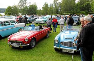 Åkdon och termos-evenemangen i Räfsnäs brukar vara riktiga folkfester. Här en bild från 2015.Foto: Henrik Schmidt