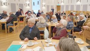 Närmare 50 medlemmar kom till årsmötet. Foto:  Majvor Enström