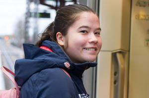 Blivande sportstjärna från Arboga? Ja, det kanske Katherine Karlsson blir en dag, men då under thailändsk flagga.
