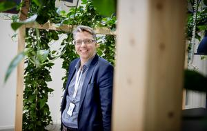 Eric Edung, affärsutvecklare hos Coompanion Södertälje.