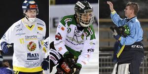 David Jansson, Mattias Johansson och Pete Pättiniemi är tre av flera skrällar i Veckans lag. Foto: TT / Andreas Tagg