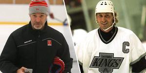 Olsson och Gretzky delade omklädningsrum under säsongen 95/96. Foto: David Hellsing//Bildbyrån.