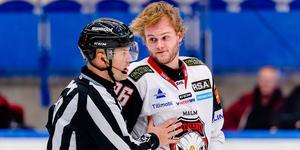 Kim Rosdahl har gjort sju poäng i SHL båda de två senaste säsongerna för Malmö. Nu hoppas han att det ska bli desto fler poäng i Modotröjan. Foto: Bildbyrån