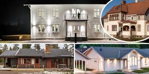 Ett bildmontage med några av de hus som är med på Klicktoppen, för förra veckan. Hela listan hittar du här nedanför.
