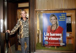 2014. Liza-Maria Norlin var Kristdemokraternas förstanamn i Sundsvall 2014.