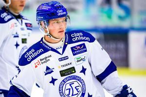 Axel Bergkvist är nära nytt avtal med Leksand. Han kan presenteras i veckan. Foto: Fredrik Karlsson/Bildbyrån