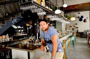 Tord Budenberg vill ta vara på vattenkänslan som finns i stan, precis på samma sätt som i hemstaden Halmstad.