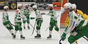 Robin Andersson och hans VSK fick jubla flera gånger om i andra halvlek.