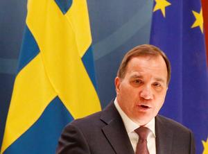 Svagt lysande stjärna i EU. Stefan Löfven (S) borde ha gjort mer för Sveriges ställning i Europa. Oavsett vem som vinner valet måste ambitionerna öka. Foto: Christine Olsson / TT