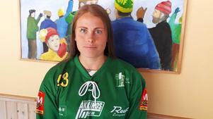 Emma Ahlander lämnar moderklubben Sandviken för svenska mästaren Skutskär. Bild: Skutskär.