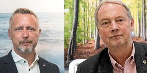 Patrik Isestad (S) och Harry Bouveng (M).
