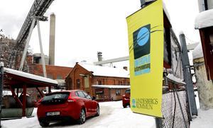 I Frövifors pappersbruksmuseum samlades 34 utställare inklusive musikgrupper.