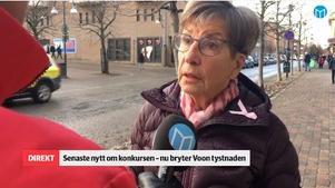 Monika Krig, patient på Voons vårdcentral.