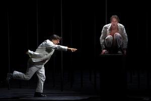 Repetition av föreställningen Peer Gynt på Dramaten i Stockholm.Foto Hossein Salmanzadeh / TT