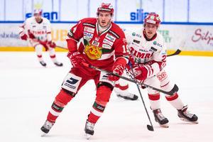 John Persson kom till Mora inför SHL-säsongen 2017/18. Foto: Daniel Eriksson/BILDBYRÅN