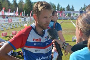 Thomas Carlsson intervjuas av Sofia Domeij.
