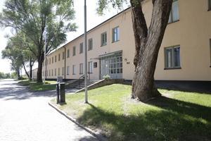 Filmarkivet i Grängesberg är placerat i det som en gång var omklädningsrum och matsal för järngruvans många arbetare.