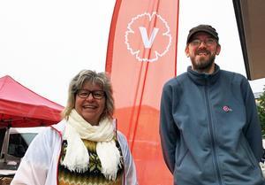 Vänsterpartiets toppnamn Ingrid Nilsson och Martin Neldén får fortsätta att vara med och styra Härnösand.