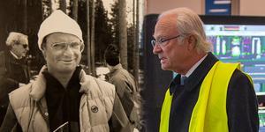 Kungliga besök i Timrå, då och nu.