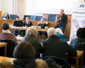 .Rättviks Fastigheter AB:s vd Ebbe Evbjer var förvånad över att så många ville närvara.