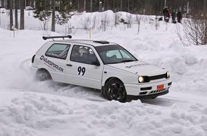 Kim Nilsson/David Sjöberg vann 2wd-klassen. FOTO: NICLAS ALFREDSSON