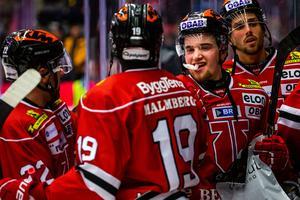 Glenn Gustafsson har tagit stora kliv i vinter, leder Örebro Hockeys skytteliga tillsammans med Mathias Bromé på fyra fullträffar. Bild: Johan Bernström/Bildbyrån
