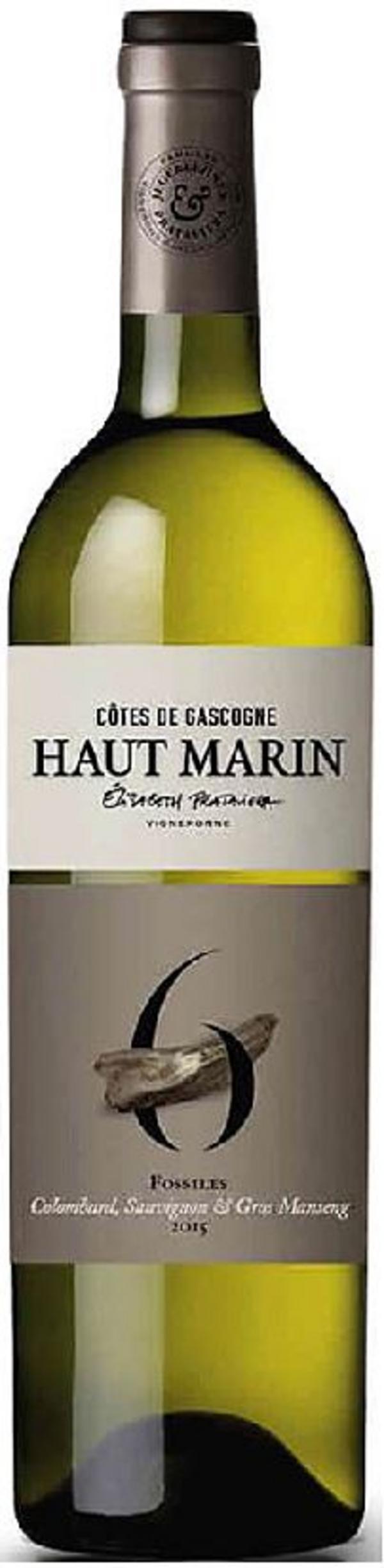 Haut Marin Cuvée Fossiles 2017.