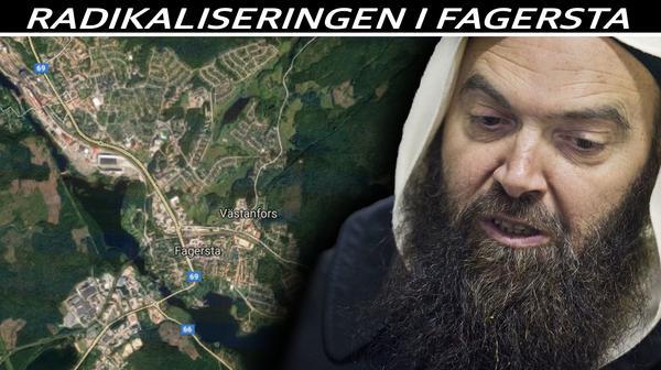 Salafistiska imamen Fekri Hamad är verksam i både Fagersta och Västerås.Foto: Google maps/ Tony Persson