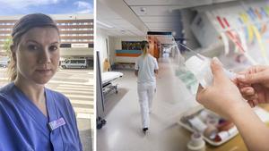 Agnes Löfman arbetar som sjuksköterska på Sundsvalls sjukhus. Bilder: Privat / Tony Persson / Troy Enekvist