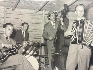 Bertil Blom och hans kvartett under 1950-talet.