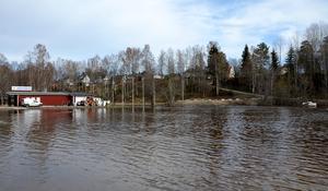 På parkeringen vid Ånäsparken brukar det arrangeras bilbingo. Det går inte nu.