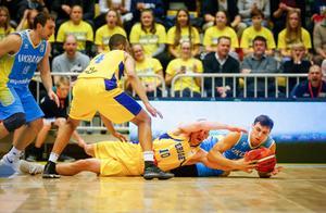 Sverige och Martin Pahlmblad nådde inte hela vägen fram i Kiev, och förlorade även det andra VM-kvalmötet med Ukraina. Arkivfoto: Stefan Jerrevång / TT.