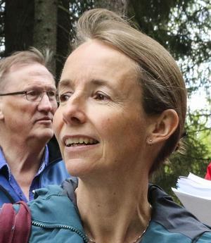 Maria Boberg är stadsarkitekt och hon ser ingen avmattning av bostadsbyggandet för Östersunds del.
