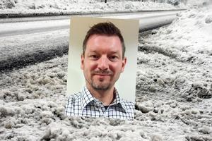 Fredrik Linde, chef på SMHI.