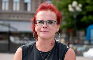Theresa Lundgren, 39 år, svetsarlärling, Bergsåker: