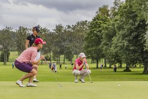 Över 100 damer deltog i Ladies Open.