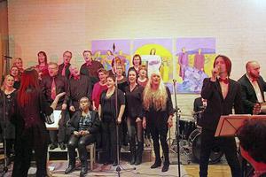Hosanna Gospel med Scramblers-sångaren Klas Norberg